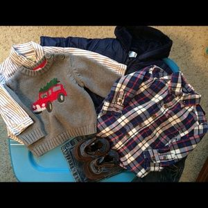 Baby Boy Clothing Lot Fall & Winter